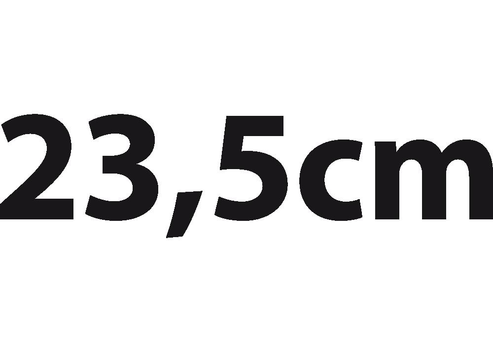 Inseam Length 23,5