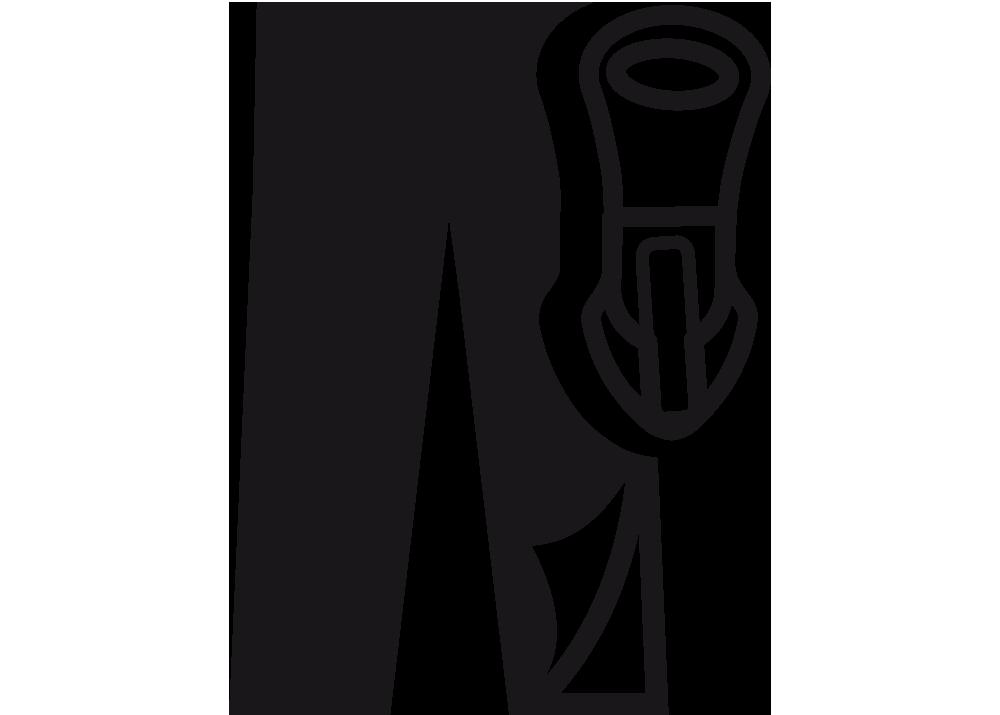 Full Length Side Zipper