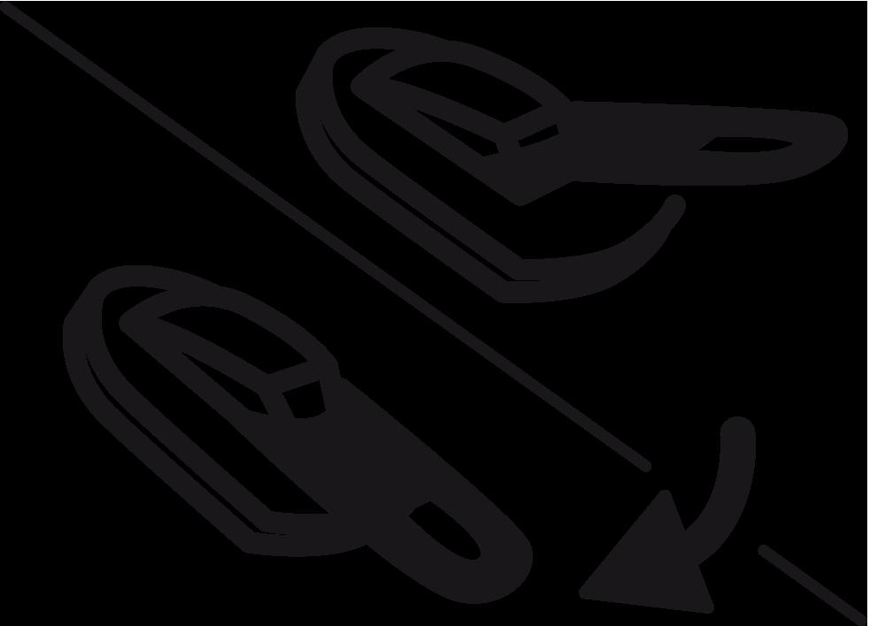 Semi Autlock Zipper
